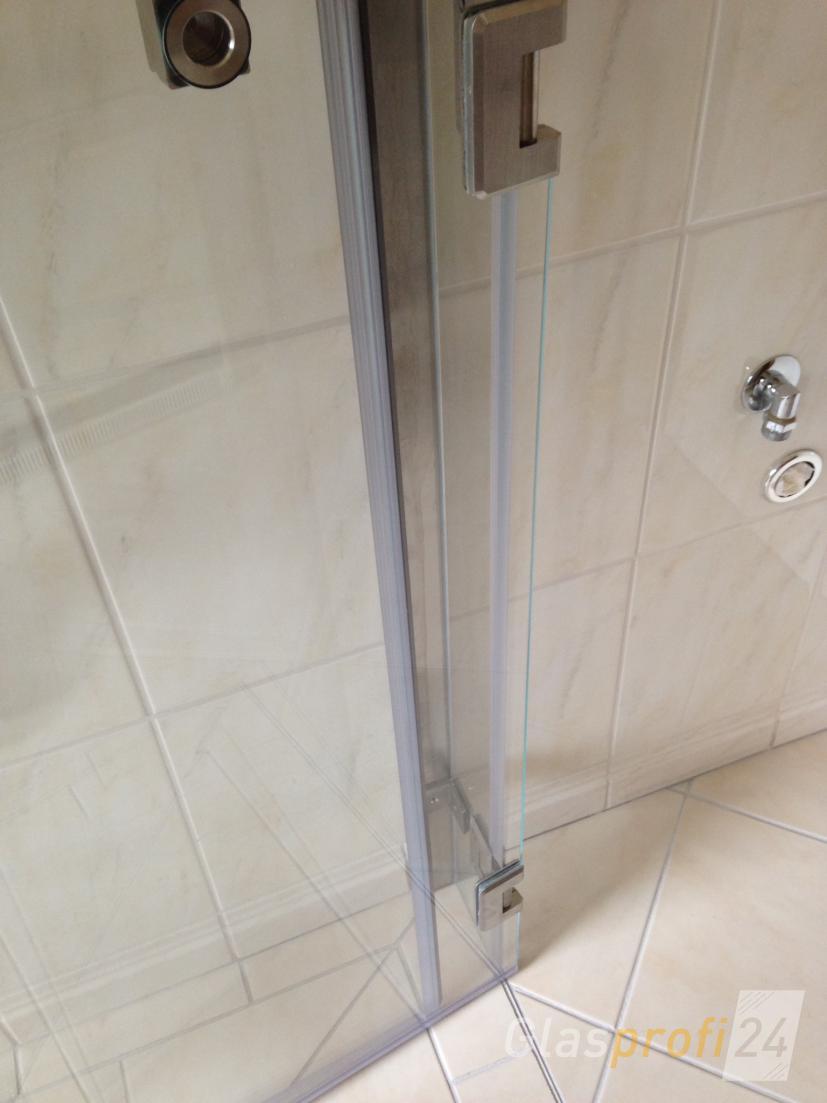 faltbare duschkabine aus glas glasprofi