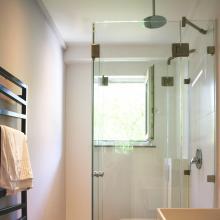 faltbare u dusche aus 4 beweglichen glaselementen und 2 festteilen serie classic - Dusche Glastur Nach Mas 2
