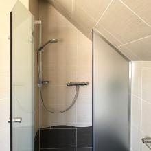Duschabtrennung glas nische  Duschtür in Nische & Nischendusche aus Glas | GLASPROFI24