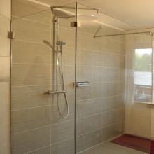 Walk in Dusche & Duschabtrennung aus Glas | GLASPROFI24 | {Dusche 9}
