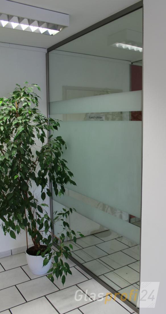 glas trennwand slim nach ma gefertigt glasprofi24. Black Bedroom Furniture Sets. Home Design Ideas
