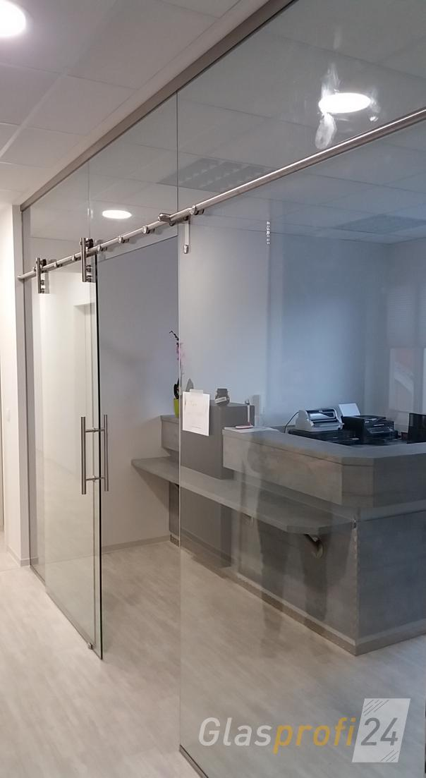 glaswand und glastrennwand nach ma glasprofi24. Black Bedroom Furniture Sets. Home Design Ideas