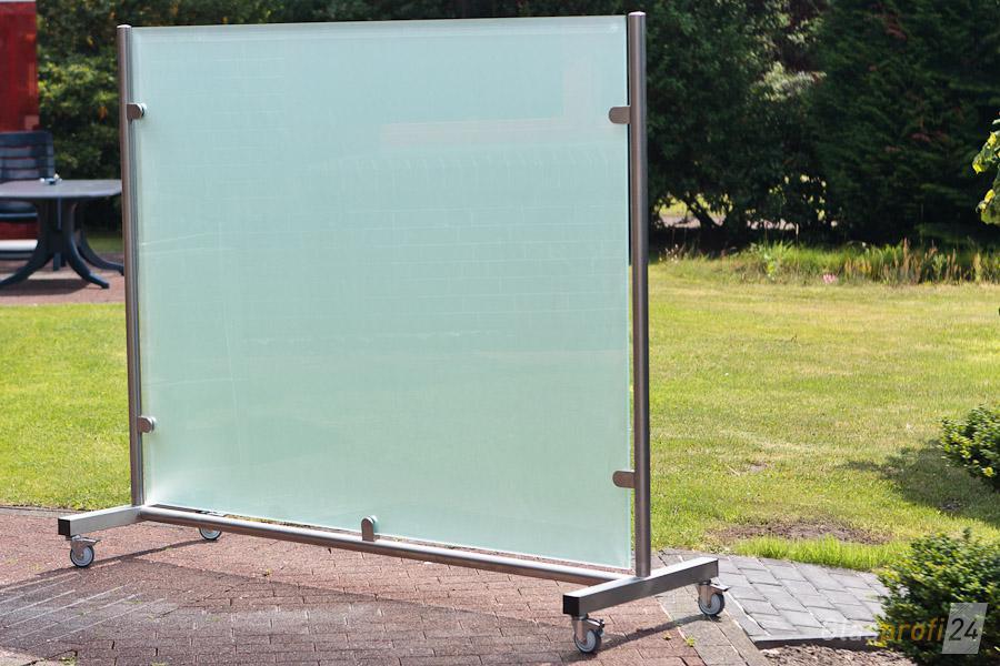 glas windschutz auf rollen | glasprofi24,