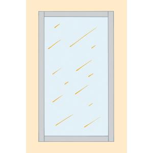 Deckenschiene und U-Profil Boden/Wand