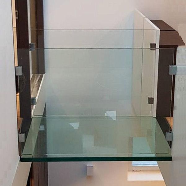begehbarer glasboden nach ma glasprofi24. Black Bedroom Furniture Sets. Home Design Ideas