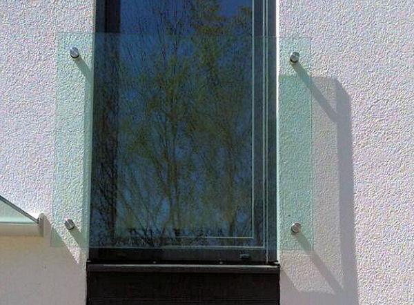 franzosischer balkon aus glas glasprofi24 With französischer balkon mit garten wc selber bauen
