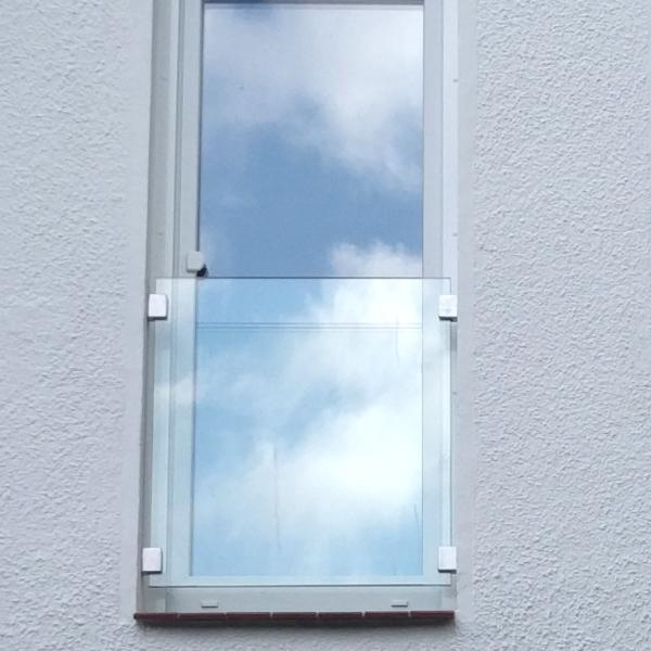 franzosischer balkon aus glas glasprofi24 With französischer balkon mit glas garten