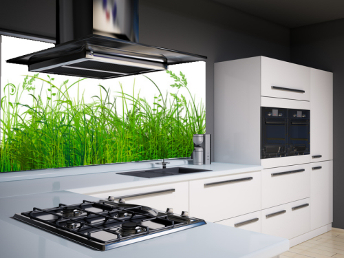 Toll Küchenrückwand Aus Glas Als Spritzschutz | GLASPROFI24