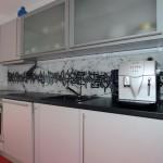 küchenrückwand aus glas als spritzschutz | glasprofi24 - Küchenrückwand Glas Motiv