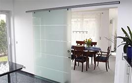 glasschiebet r nach ma glasschiebet ren von glasprofi24. Black Bedroom Furniture Sets. Home Design Ideas