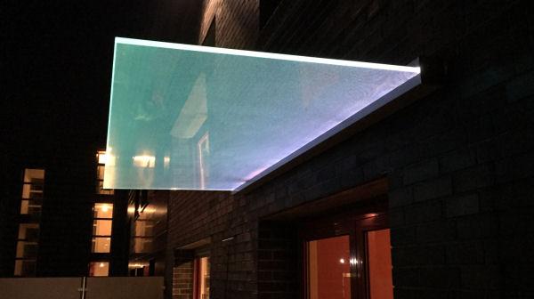 glass canopy type dura glasprofi24. Black Bedroom Furniture Sets. Home Design Ideas