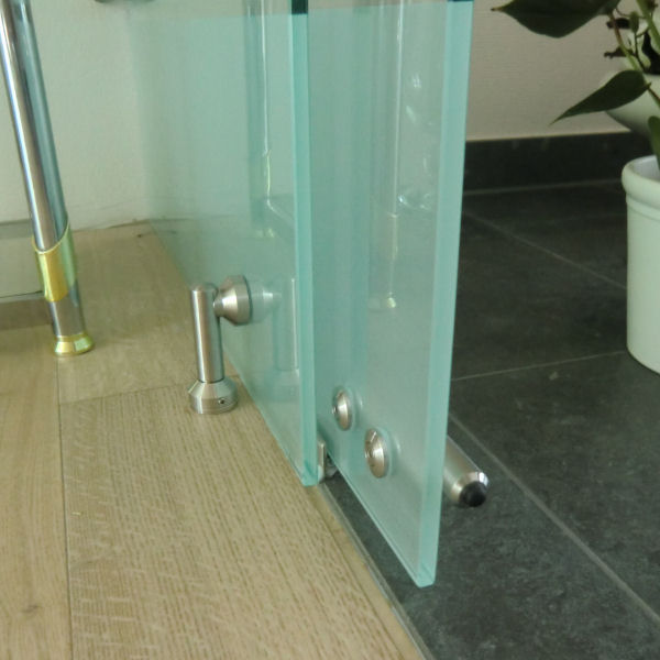 Duschabtrennung glas satiniert  Milchglas | GLASPROFI24