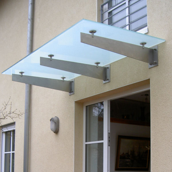 vordach selber bauen aus glas glasprofi24. Black Bedroom Furniture Sets. Home Design Ideas