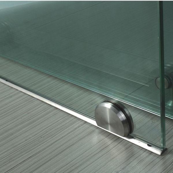 glasschiebet r mit bodenrollen glasprofi24. Black Bedroom Furniture Sets. Home Design Ideas