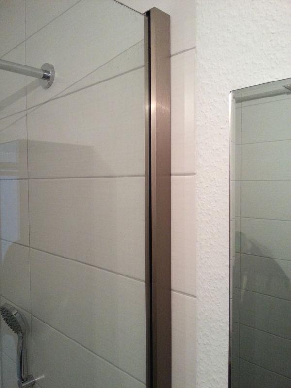 selbstmontage wandklemmprofil gtw glasprofi24. Black Bedroom Furniture Sets. Home Design Ideas