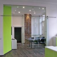 glas trennwand nach ma f r b ro und praxis glasprofi24. Black Bedroom Furniture Sets. Home Design Ideas