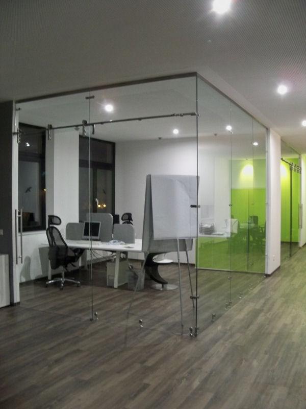 Raumteiler glaswand prinsenvanderaa - Glaswande innen ...