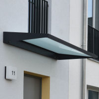 vordach was zu ihrer haust r passt glasprofi24. Black Bedroom Furniture Sets. Home Design Ideas