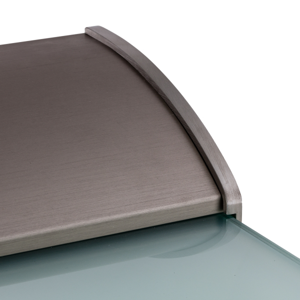 haust r berdachung dura plus ist freitragend glasprofi24. Black Bedroom Furniture Sets. Home Design Ideas