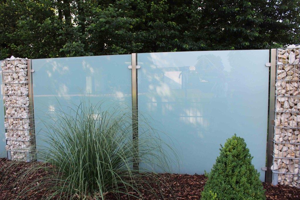 glaszaun für garten und terrasse | glasprofi24, Gartenarbeit ideen