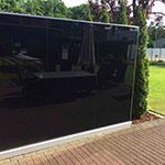 glaszaun f r garten und terrasse glasprofi24. Black Bedroom Furniture Sets. Home Design Ideas