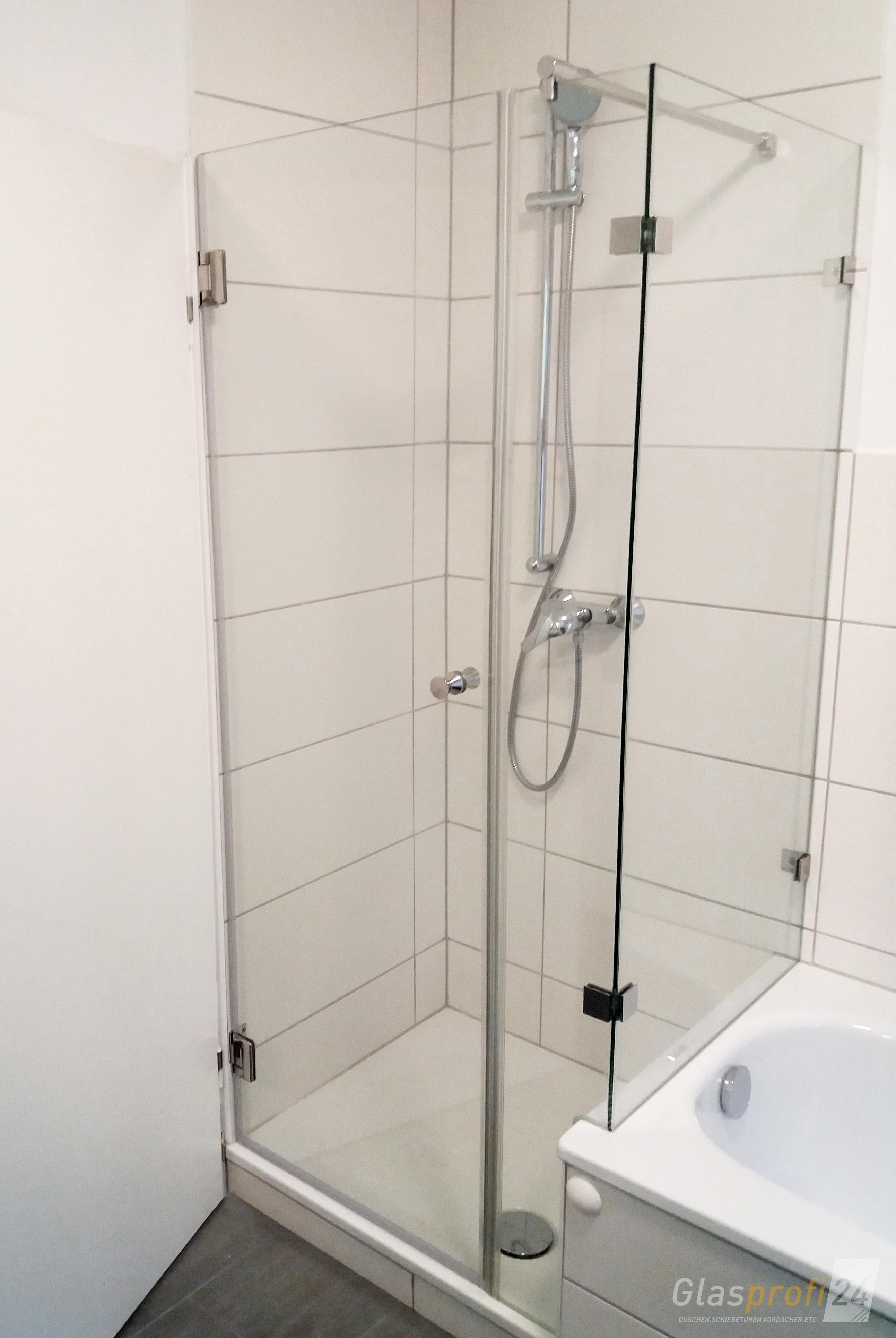 dusche an badewanne glasprofi24. Black Bedroom Furniture Sets. Home Design Ideas