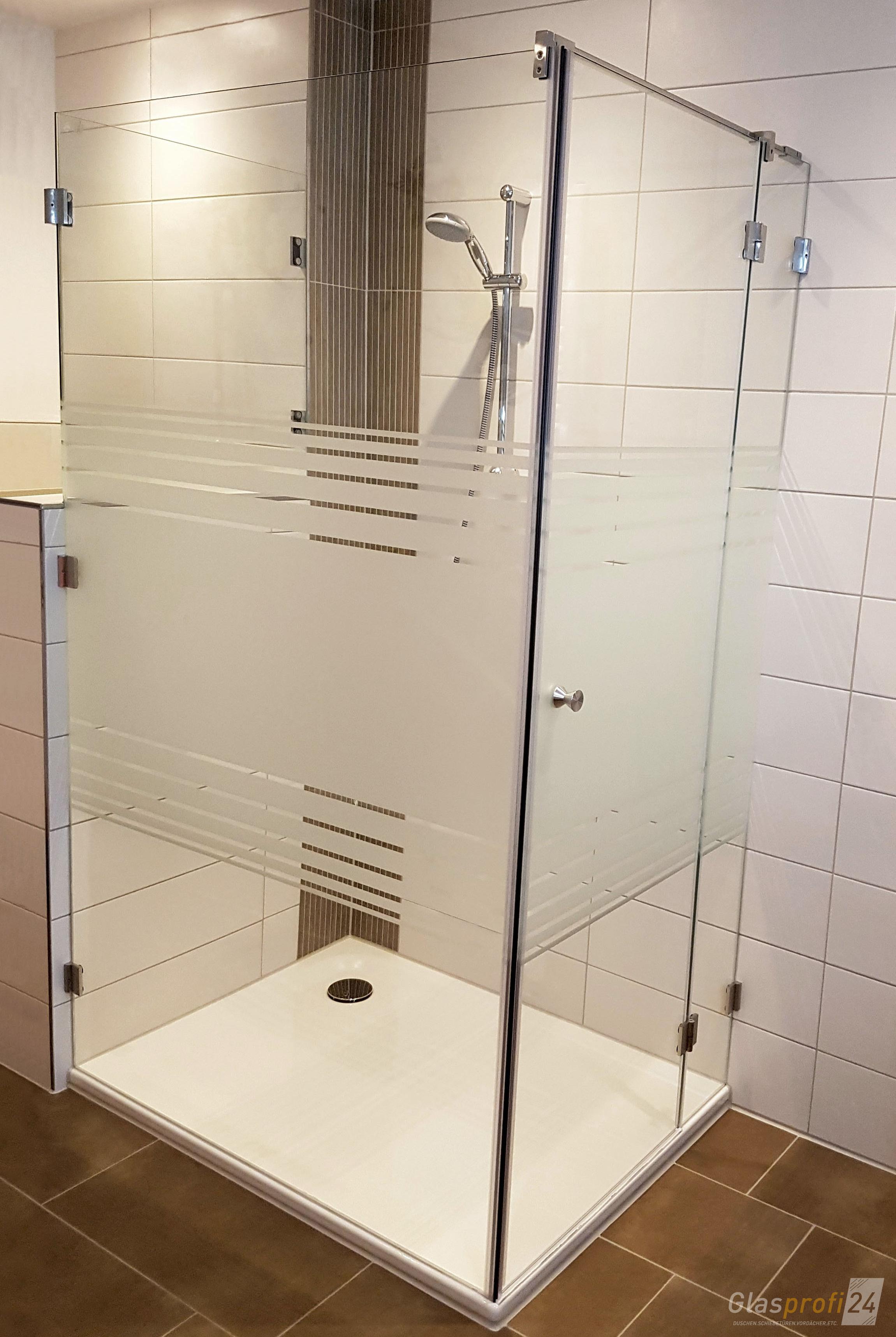Echtglas Dusche In U Form Nach Mass