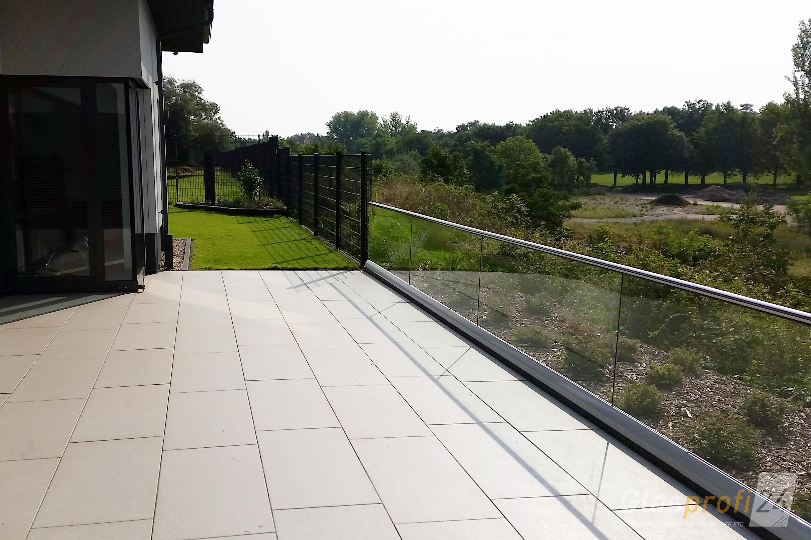 Glasgelander Fur Balkon Und Dachterrasse Glasprofi24