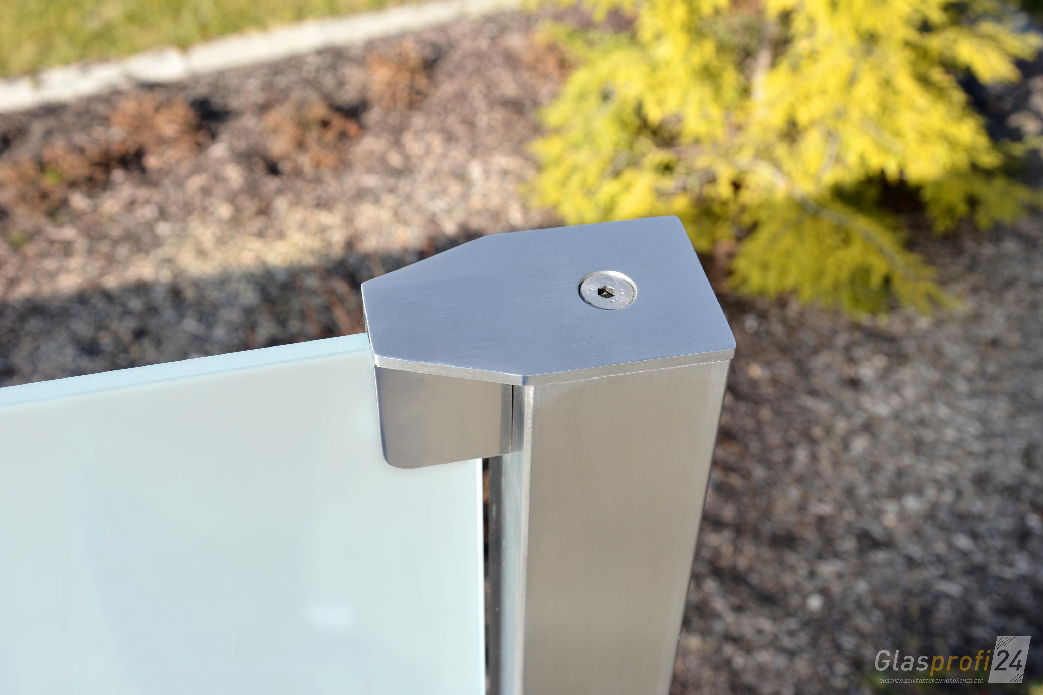 Glaszaun Fur Wind Und Sichtschutz Glasprofi24