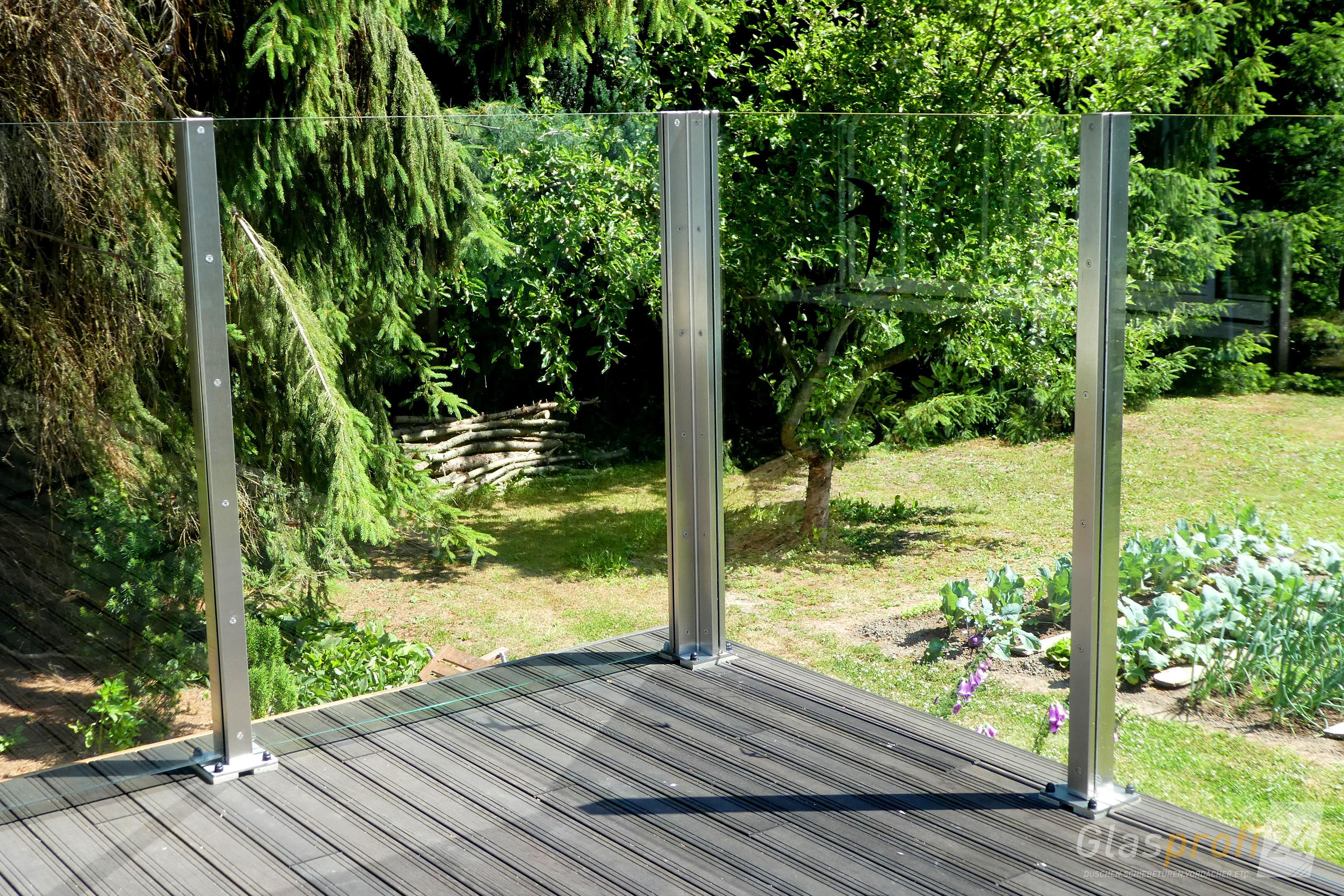 Windschutz Fur Die Terrasse Glasprofi24
