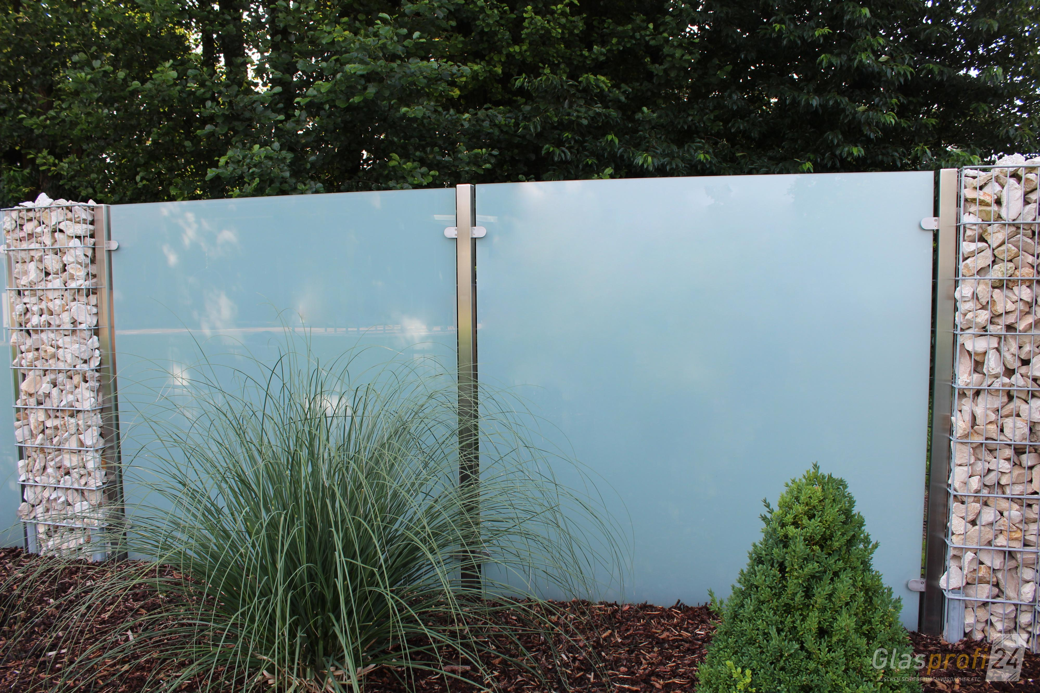 Sichtschutz Aus Glas Fur Den Garten Glasprofi24