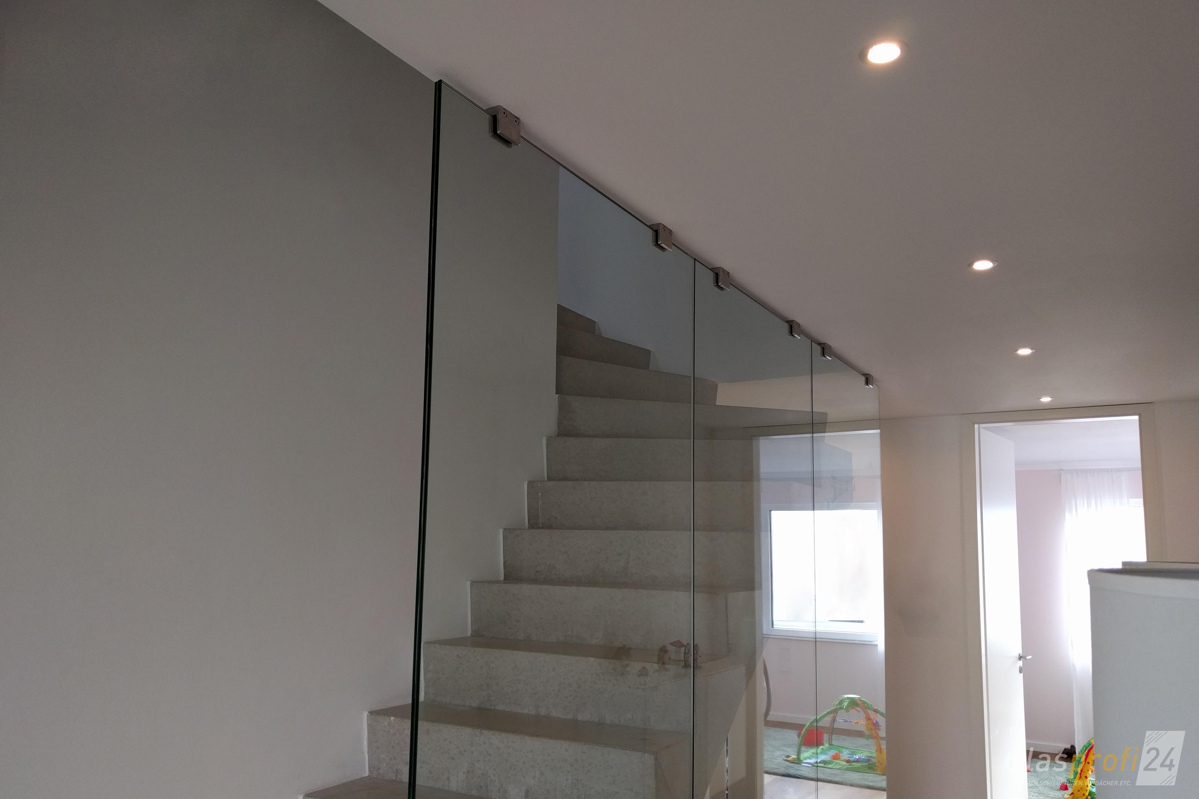 Glas-Trennwände individuell nach Maß   GLASPROFI24