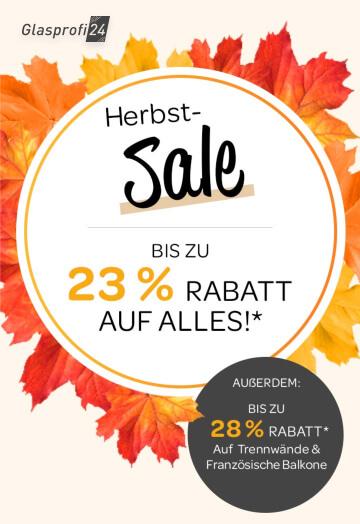 Sale bei Glasprofi24