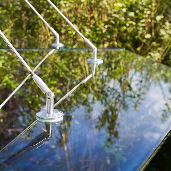 Glasschirm Punkthalter