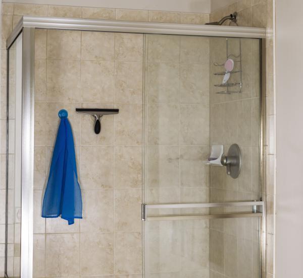 Eck Duschabtrennung pflegen