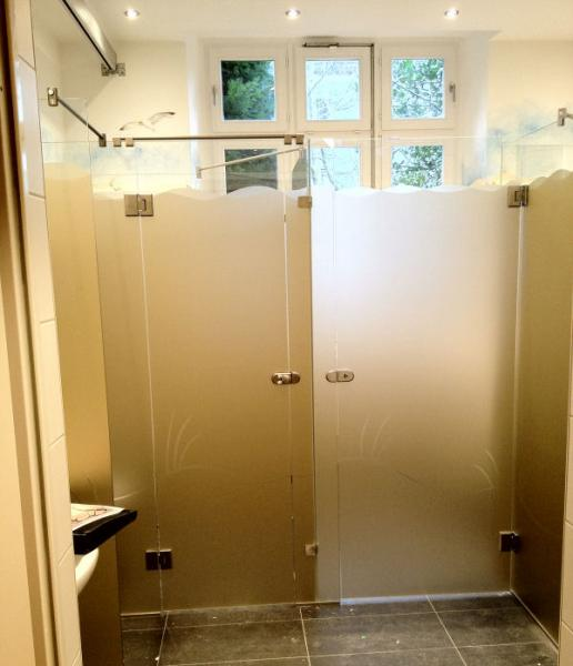 WC Glas-Kabine