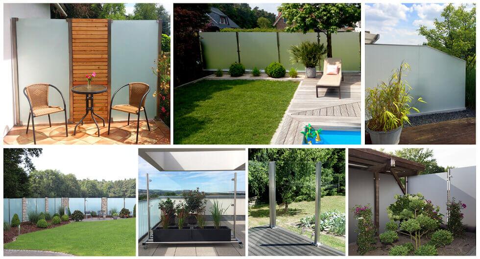 Wind- & Sichtschutz Garten