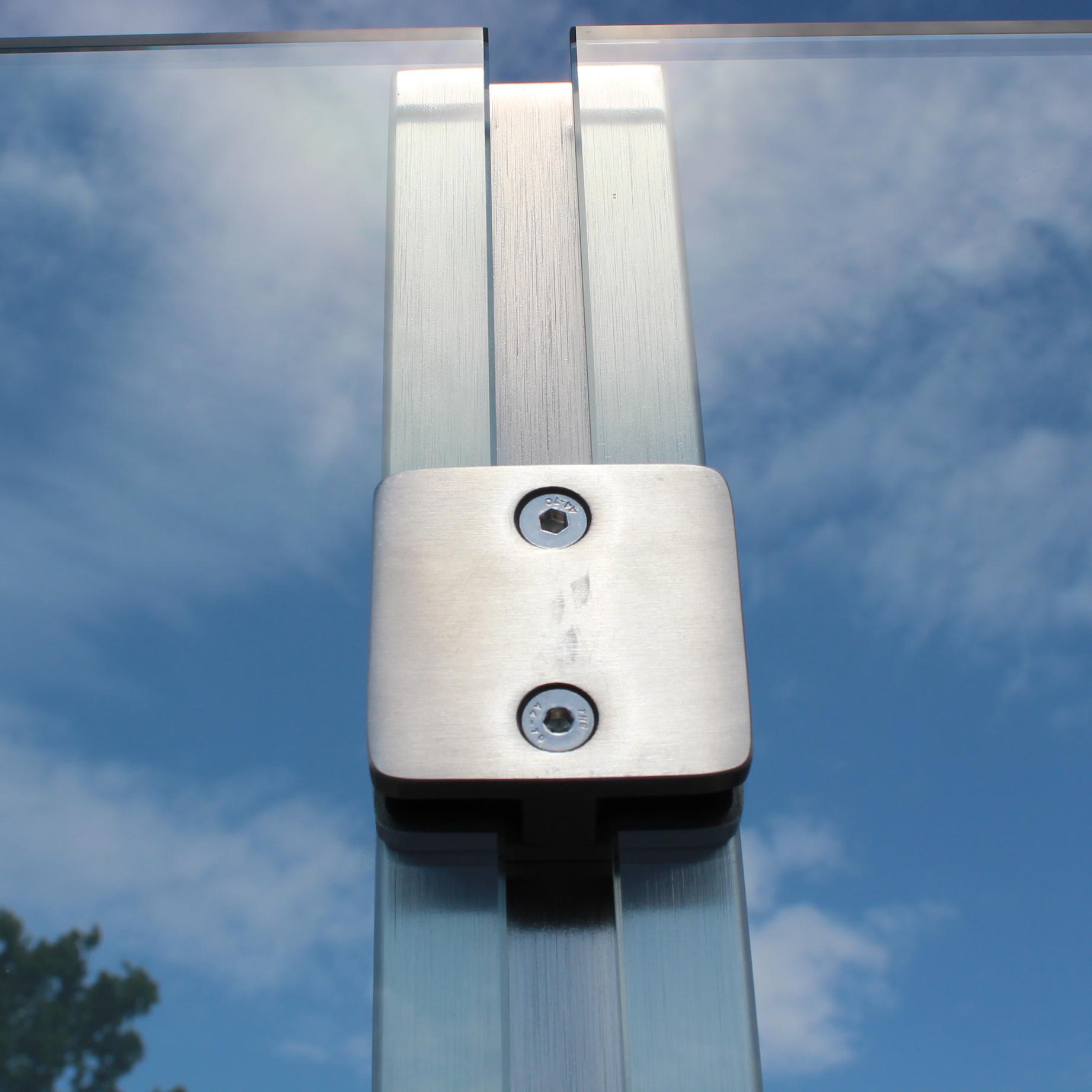 Sichtschutz Im Garten Aus Glas Glasprofi24