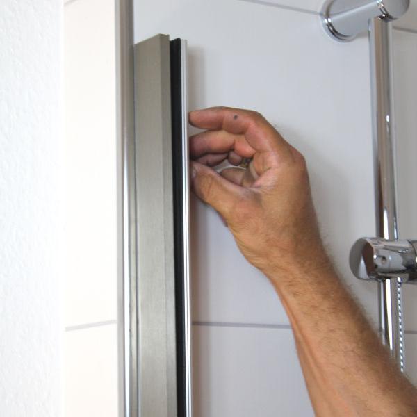 Dusche gemauert wandstärke  Vordach-Montage - informieren Sie sich hier | GLASPROFI24