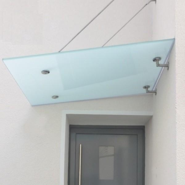 haust rvordach mit satiniertem glas und runden. Black Bedroom Furniture Sets. Home Design Ideas