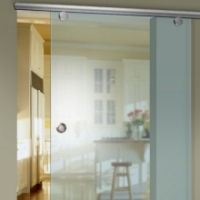 Glas-Schiebetür der Serie Mercato