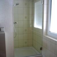 Echtglas Duschtür für den Nischeneinbau