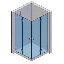 2 Türen, 2 Seitenteile