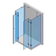 2 Türen, 4 Seitenteile